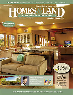 HOMES & LAND Magazine Cover. Vol. 19, Issue 08, Page 3.