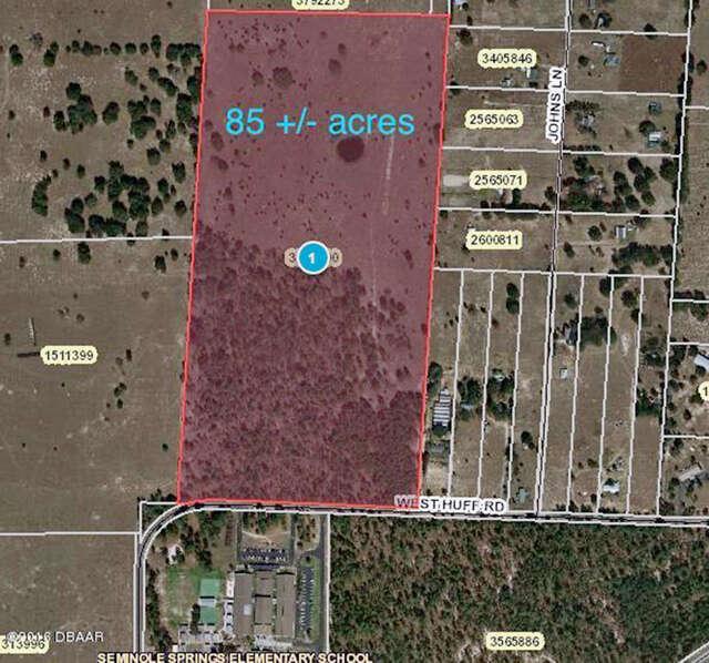 Home Listing at 0 HUFF Road, EUSTIS, FL
