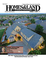HOMES & LAND Magazine Cover. Vol. 09, Issue 03, Page 6.