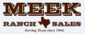 Meek Ranch Sales, Kerrville TX