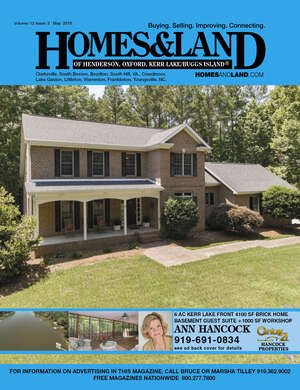 HOMES & LAND Magazine Cover. Vol. 12, Issue 03, Page 16.