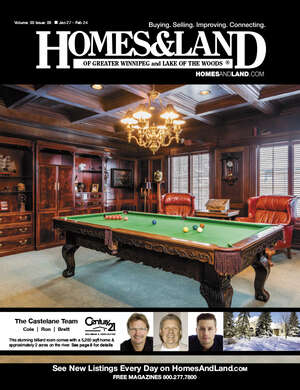 HOMES & LAND Magazine Cover. Vol. 03, Issue 09, Page 8.