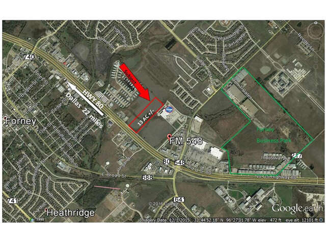 Investment for Sale at 0000 Hwy 80 Forney, Texas 75126 United States