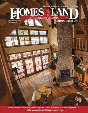HOMES & LAND Magazine Cover. Vol. 22, Issue 03, Page 4.