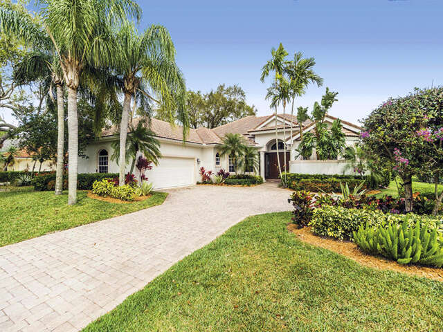 Single Family for Sale at 6 Thurston Drive Palm Beach Gardens, Florida 33418 United States