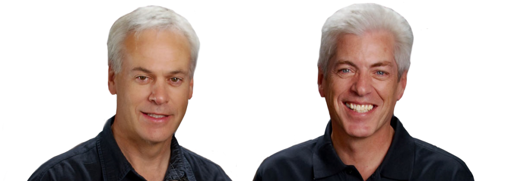Tom Ward and Mark Sanders