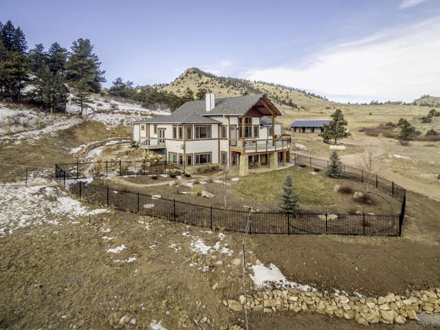 Single Family for Sale at 1388 Mount Moriah Road Livermore, Colorado 80536 United States