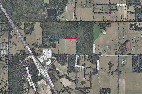 Land for Sale at 7011 W Highway 318 Reddick, Florida 32686 United States