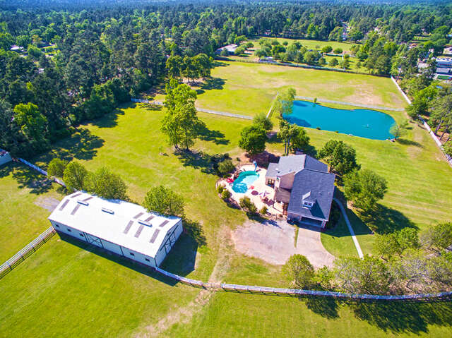 Single Family for Sale at 29545 Dobbin Hufsmith Road Magnolia, Texas 77354 United States