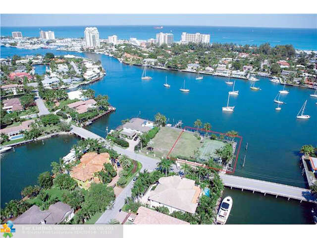 Single Family for Sale at 1416 W Lake Dr Fort Lauderdale, Florida 33316 United States