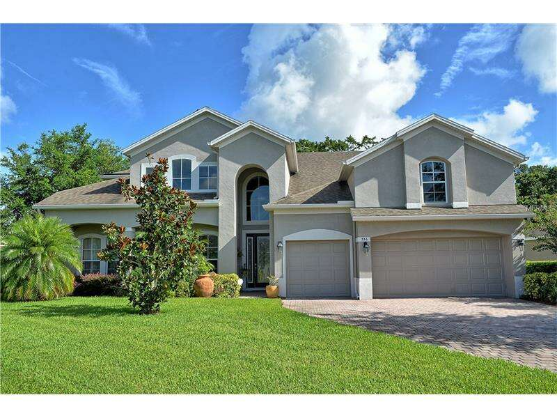 Single Family for Sale at 356 Old Alemany Place Oviedo, Florida 32765 United States
