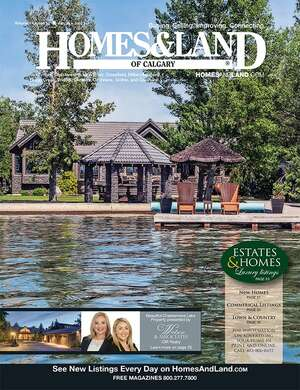 HOMES & LAND Magazine Cover. Vol. 14, Issue 12, Page 25.