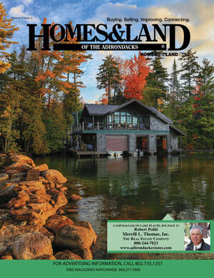HOMES & LAND Magazine Cover. Vol. 09, Issue 03, Page 13.