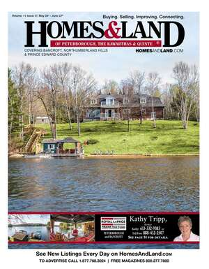 HOMES & LAND Magazine Cover. Vol. 11, Issue 08, Page 51.