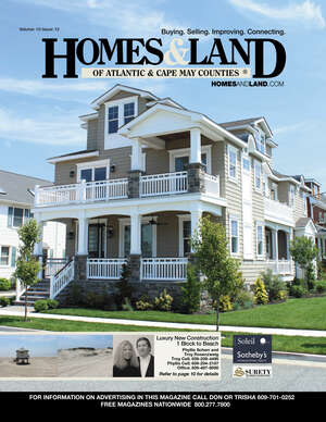 HOMES & LAND Magazine Cover. Vol. 10, Issue 13, Page 10.