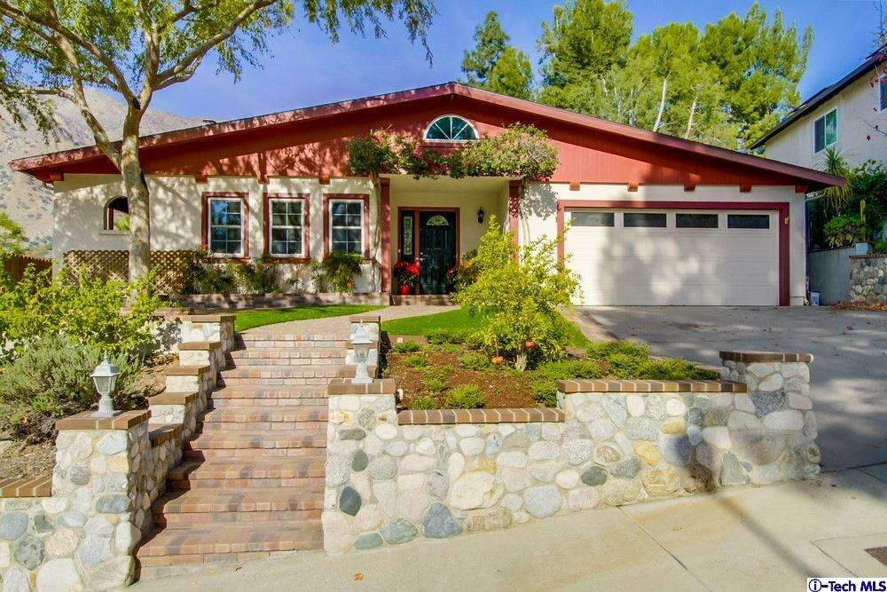 Single Family for Sale at 7507 Alpine Way Tujunga, California 91042 United States