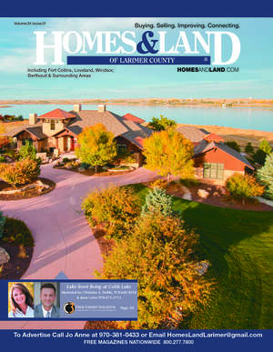 HOMES & LAND Magazine Cover. Vol. 34, Issue 01, Page 23.