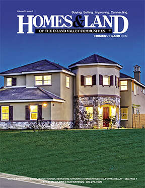 HOMES & LAND Magazine Cover. Vol. 33, Issue 01, Page 7.
