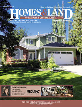 HOMES & LAND Magazine Cover. Vol. 10, Issue 03, Page 5.
