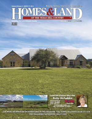 HOMES & LAND Magazine Cover. Vol. 28, Issue 03, Page 1.
