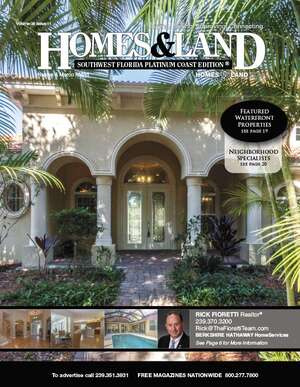 HOMES & LAND Magazine Cover. Vol. 36, Issue 11, Page 6.
