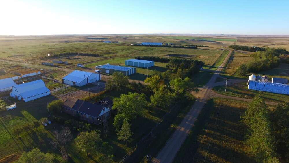 Single Family for Sale at Mcknight Angus Ranch Bison, South Dakota 57620 United States