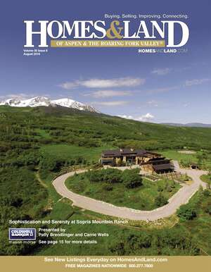 HOMES & LAND Magazine Cover. Vol. 30, Issue 08, Page 15.