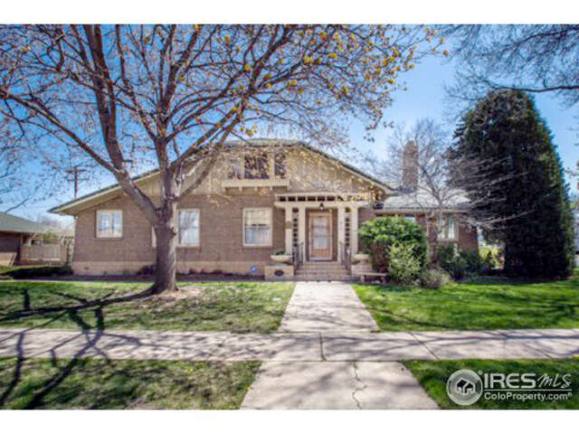 Single Family for Sale at 610 N Jefferson Ave Loveland, Colorado 80537 United States