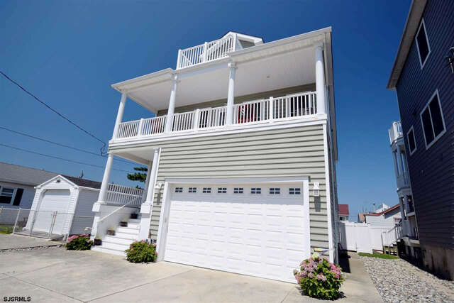 Single Family for Sale at 203 N 9th Street Brigantine, New Jersey 08203 United States