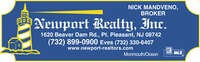 Newport Realty, Inc