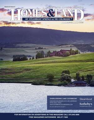 HOMES & LAND Magazine Cover. Vol. 22, Issue 06, Page 4.