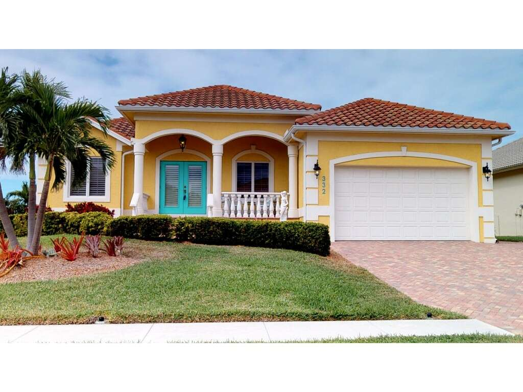 Single Family for Sale at 332 Copperfield Marco Island, Florida 34145 United States