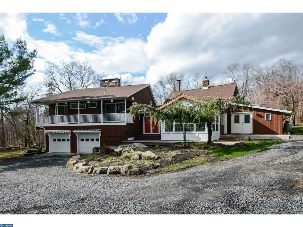 Single Family for Sale at 412 Center Hill Road Upper Black Eddy, Pennsylvania 18972 United States