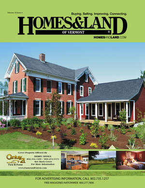 HOMES & LAND Magazine Cover. Vol. 10, Issue 04, Page 44.