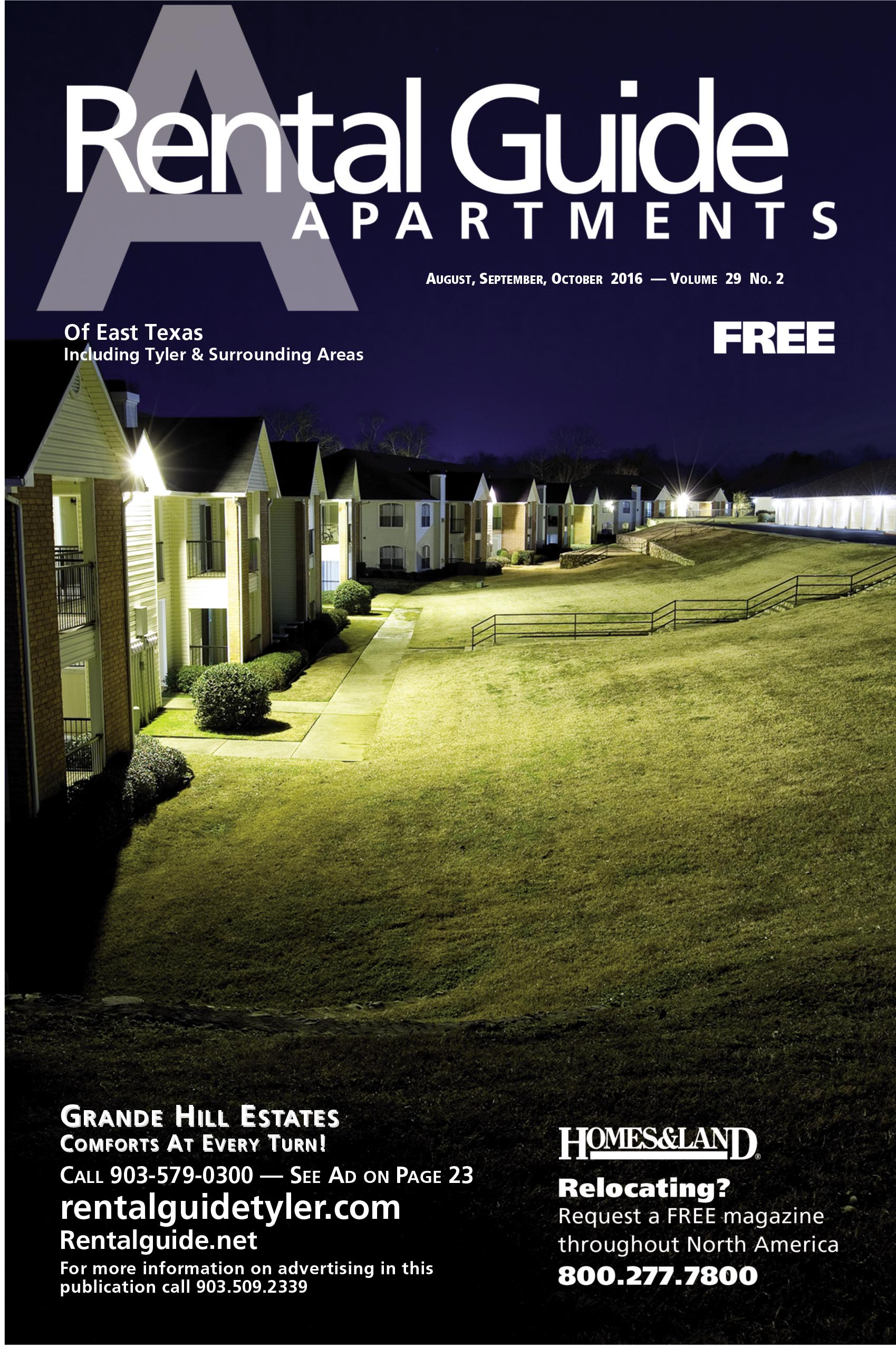 RENTAL GUIDE Magazine Cover