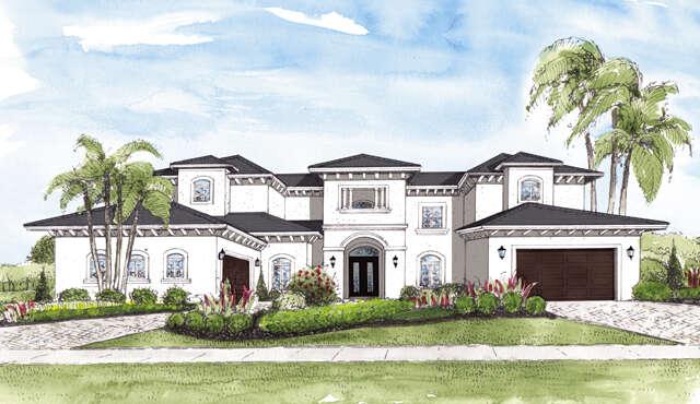 New Construction for Sale at 8405 Del Prado Drive Delray Beach, Florida 33446 United States