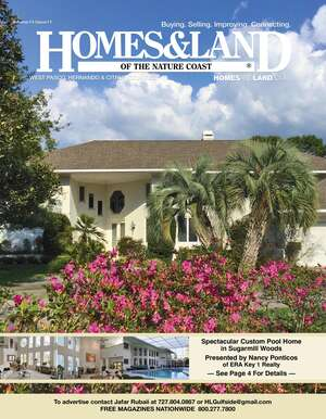 HOMES & LAND Magazine Cover. Vol. 14, Issue 11, Page 4.