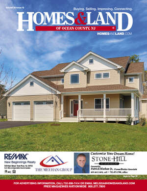HOMES & LAND Magazine Cover. Vol. 30, Issue 13, Page 25.