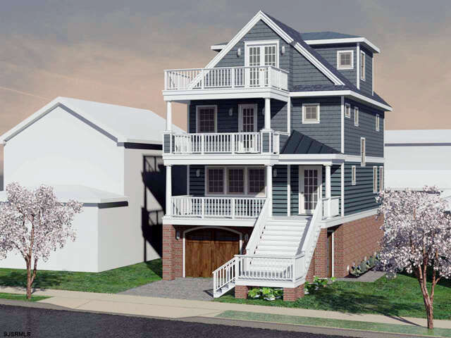 Single Family for Sale at 2507 Atlantic Ave Longport, New Jersey 08403 United States