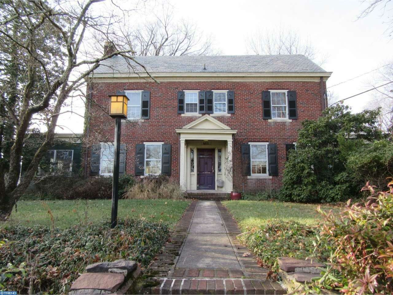 Single Family for Sale at 865 Lawrence Road Lawrence, New Jersey 08648 United States