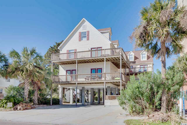 Single Family for Sale at 1710 S Ocean Blvd North Myrtle Beach, South Carolina 29582 United States