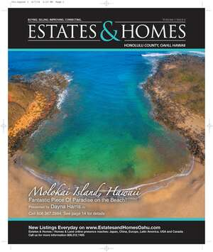 ESTATES & HOMES Magazine Cover.