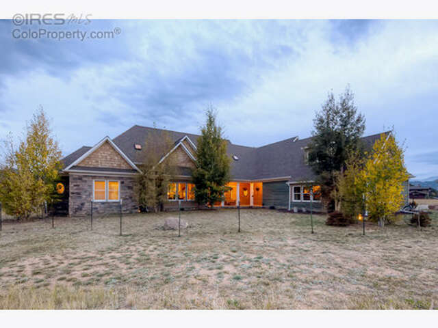 Single Family for Sale at 1450 Deer Path Ct Estes Park, Colorado 80517 United States