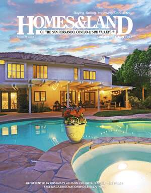 HOMES & LAND Magazine Cover. Vol. 21, Issue 04, Page 8.