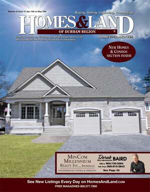 HOMES & LAND Magazine Cover. Vol. 08, Issue 03, Page 39.