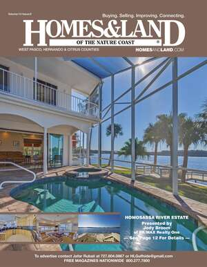 HOMES & LAND Magazine Cover. Vol. 14, Issue 09, Page 12.