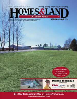 HOMES & LAND Magazine Cover. Vol. 09, Issue 02, Page 27.