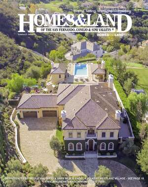 HOMES & LAND Magazine Cover. Vol. 21, Issue 10, Page 1.