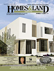 HOMES & LAND Magazine Cover. Vol. 15, Issue 08, Page 35.