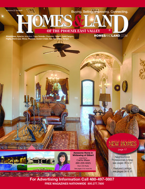 HOMES & LAND Magazine Cover. Vol. 22, Issue 06, Page 34.